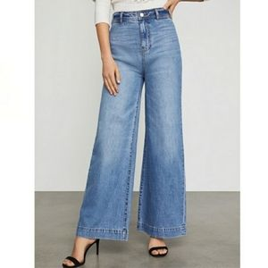 BCBG high rise. Wide leg jeans